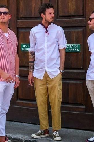 Pantalón cargo marrón claro de Dockers