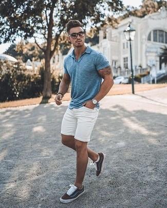 37683ffb00 Cómo combinar una camisa polo con unos pantalones cortos (81 looks ...