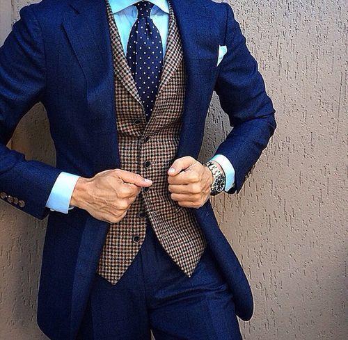 Combinaciones para trajes azules for Combinaciones con azul
