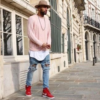 Jersey de ochos rosado de Soulland