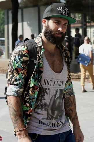 Camiseta sin mangas plateada de Joyrich