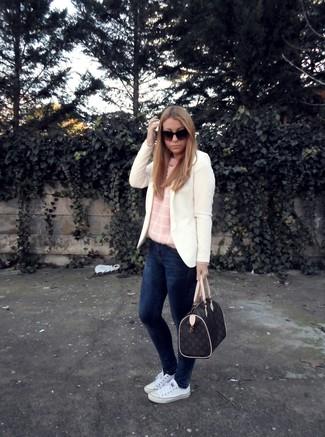 Tenis de lona blancos de Tretorn