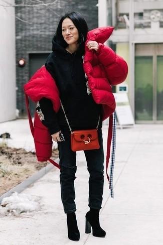 Plumífero rojo de Big Chill
