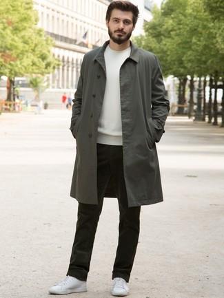 Jersey con cuello circular blanco de Obvious Basic