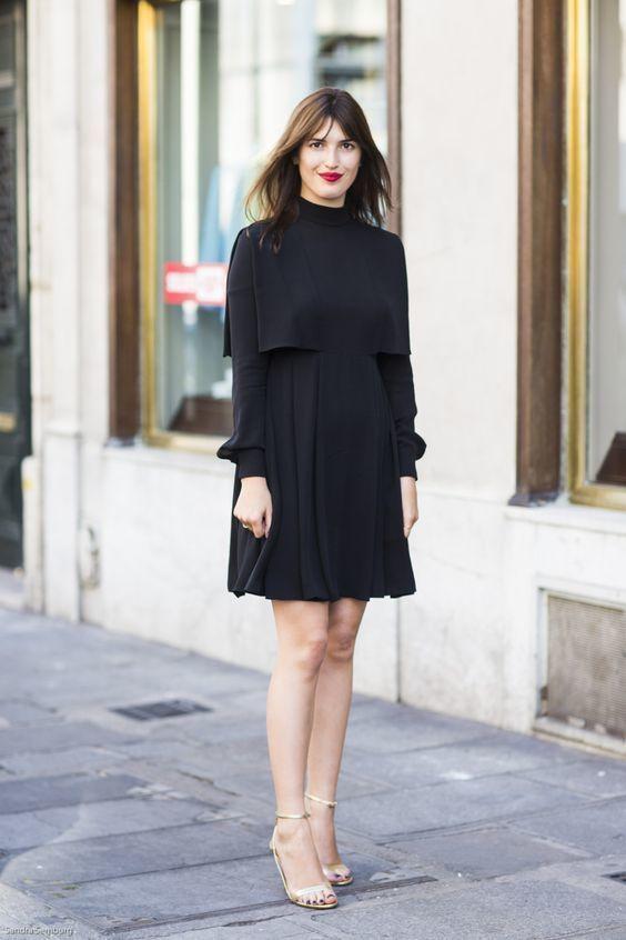Vestido negro look fiesta