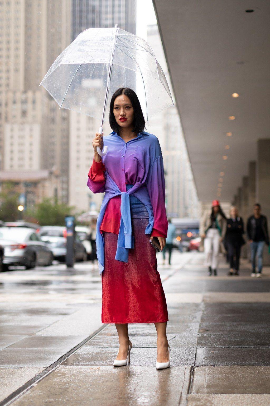 Falda Roja Cuero