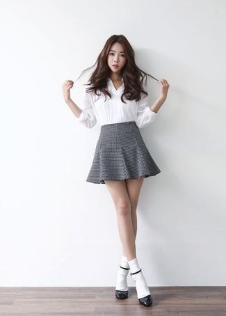 ad4b2acce Look de moda  Calcetines blancos