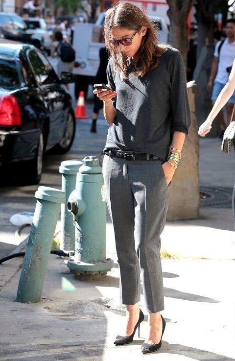 Gris Pantalón Cómo Combinar Oscuro Un Zapatos De Con Vestir Unos En 08kNOPXnw