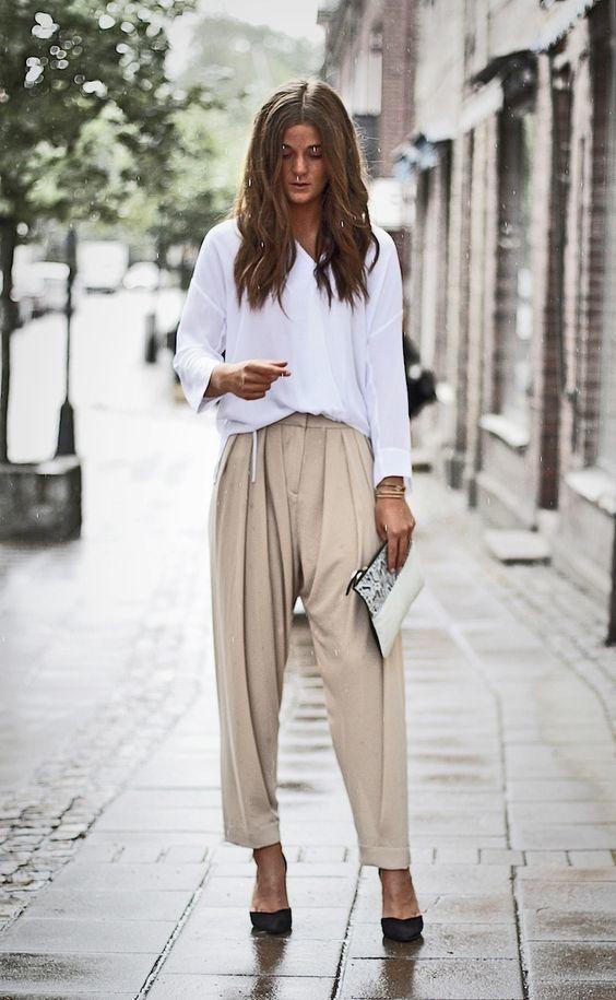 Pantalón Combinar De Zapatos Un Con Unos Cómo Marrón Pinzas Claro qCdEqaw