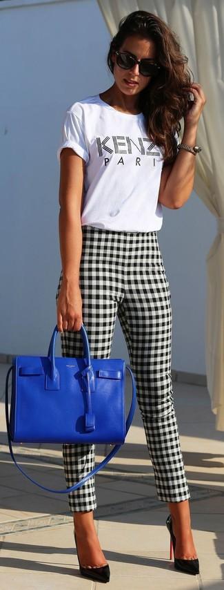 Cuadro Combinar Unos Vichy16 Moda Looks De Cómo Pantalones wOkXPTuZi