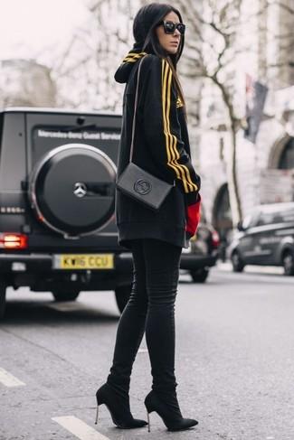 Jersey estampado negro de Givenchy
