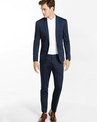 Cómo combinar un traje azul marino (476 looks de moda)  908b968bdd17