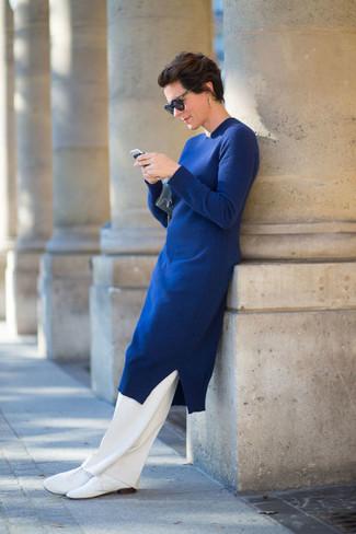 Pantalón de vestir blanco de Giambattista Valli
