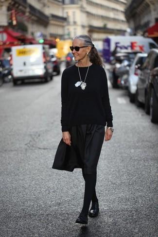 011d40984 Cómo combinar unas medias negras (759 looks de moda) | Moda para ...