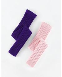 Medias en violeta