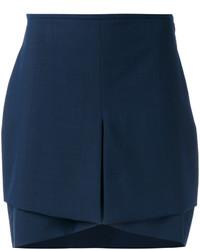 Minifalda azul marino