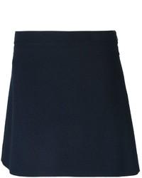Minifalda Azul Marino de Chloé