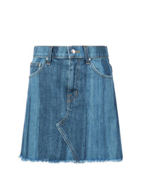 Minifalda azul de Derek Lam 10 Crosby