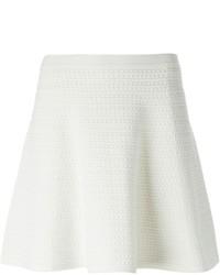 Minifalda con Relieve Blanca de Theory