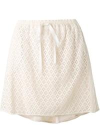 Minifalda de Encaje Blanca de See by Chloe
