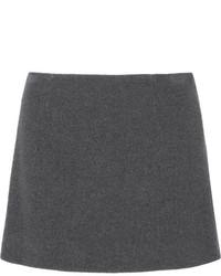 Minifalda en gris oscuro