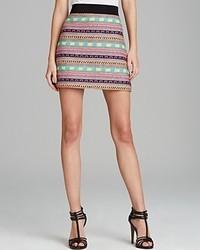 Minifalda en multicolor