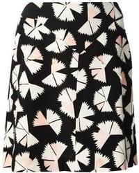 Minifalda estampada en negro y blanco de Marc by Marc Jacobs
