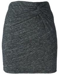 Minifalda Gris Oscuro de IRO