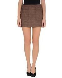 Minifalda Marrón