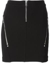 Minifalda negra de Diesel