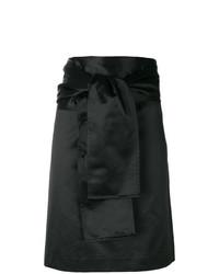 Minifalda Negra de Romeo Gigli Vintage