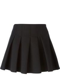 Minifalda Plisada Negra de Alexander Wang