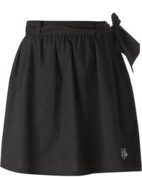 Minifalda plisada negra de Love Moschino