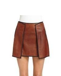 Minifalda Tabaco
