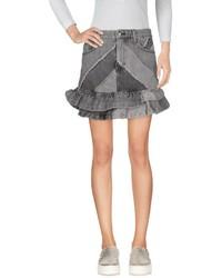 Minifalda Vaquera Gris de Marc by Marc Jacobs