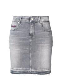 Minifalda Vaquera Gris de Tommy Jeans