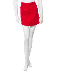 Minifalda Vaquera Roja de Kenzo