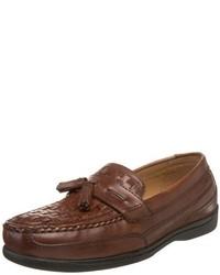Mocasín con borlas en marrón oscuro de Dockers