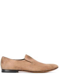 Mocasín de cuero marrón claro de Raparo