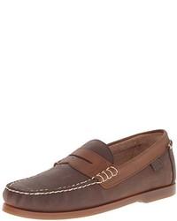 Mocasín de cuero marrón de Polo Ralph Lauren
