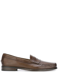 Mocasín de cuero marrón de Tom Ford