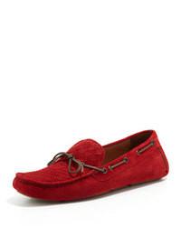 Mocasin rojo original 527850