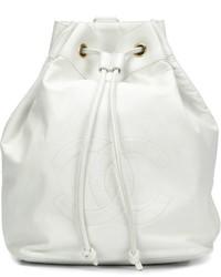 Mochila Blanca de Chanel