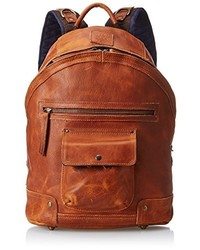 Mochila de cuero marrón de Will Leather Goods