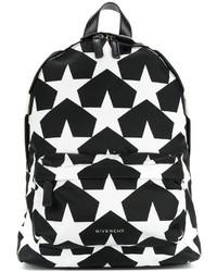 Mochila de Estrellas Negra de Givenchy