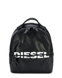 Mochila estampada negra de Diesel