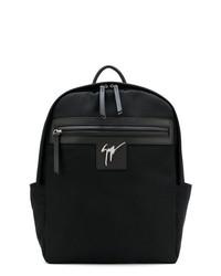 Mochila negra de Giuseppe Zanotti Design