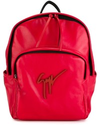 Mochila roja de Giuseppe Zanotti Design