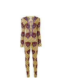 Mono estampado en multicolor de Gucci
