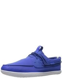 Náuticos azules de Lacoste